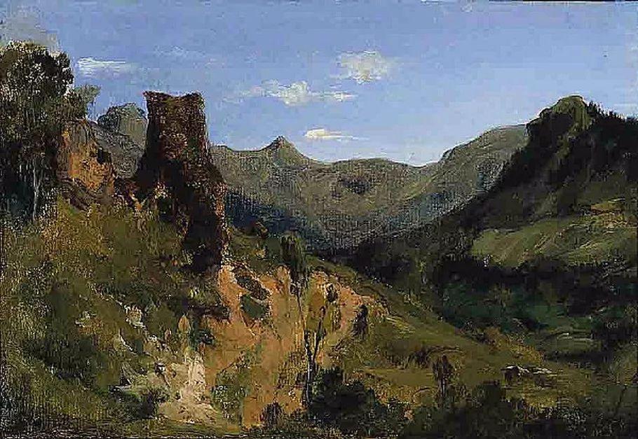 巴比松画派 法国Théodore Rousseau作品欣赏插图33
