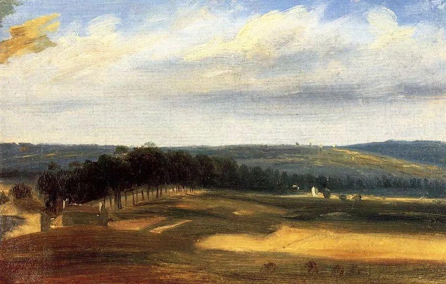 巴比松画派 法国Théodore Rousseau作品欣赏插图39