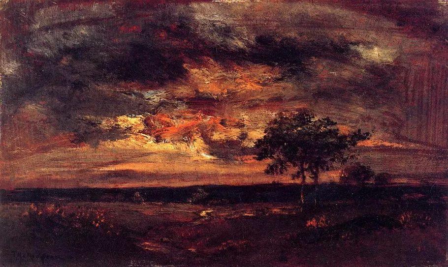 巴比松画派 法国Théodore Rousseau作品欣赏插图41