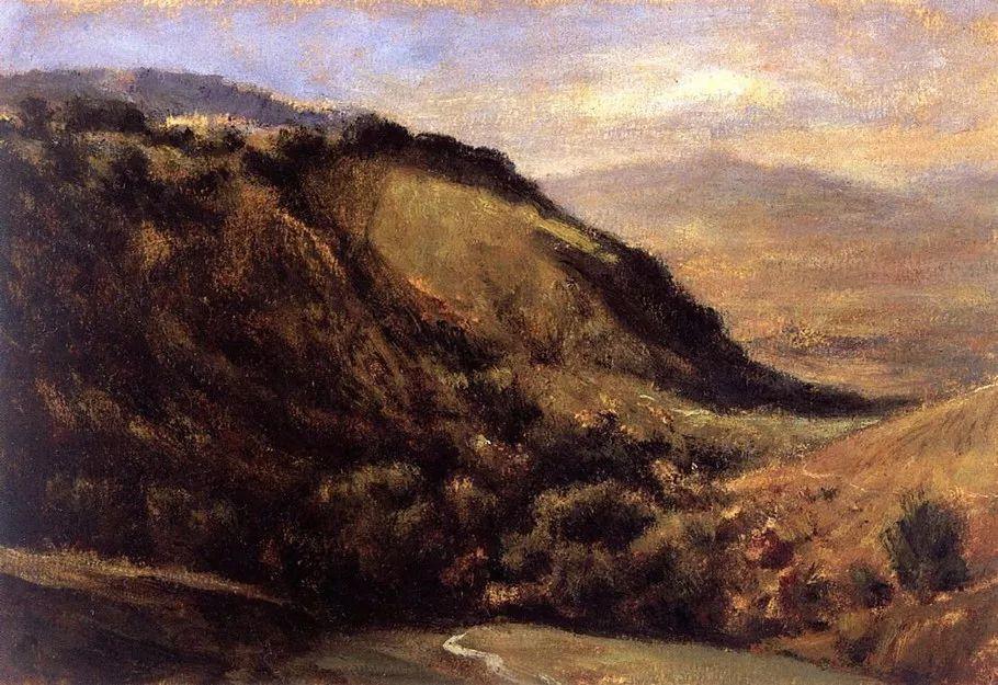 巴比松画派 法国Théodore Rousseau作品欣赏插图43