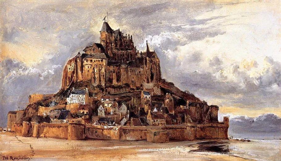 巴比松画派 法国Théodore Rousseau作品欣赏插图47