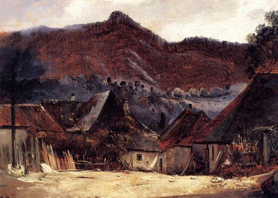 巴比松画派 法国Théodore Rousseau作品欣赏插图57