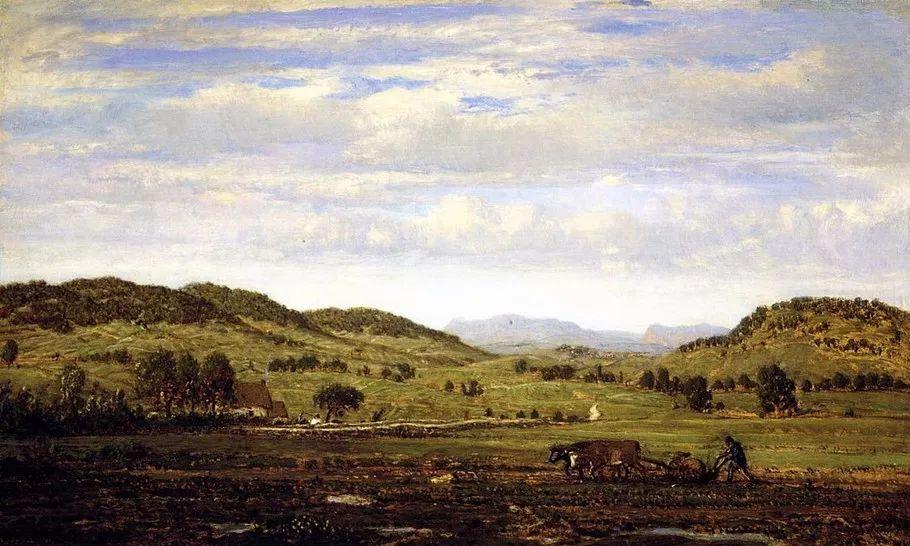 巴比松画派 法国Théodore Rousseau作品欣赏插图67