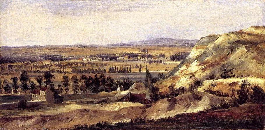 巴比松画派 法国Théodore Rousseau作品欣赏插图83