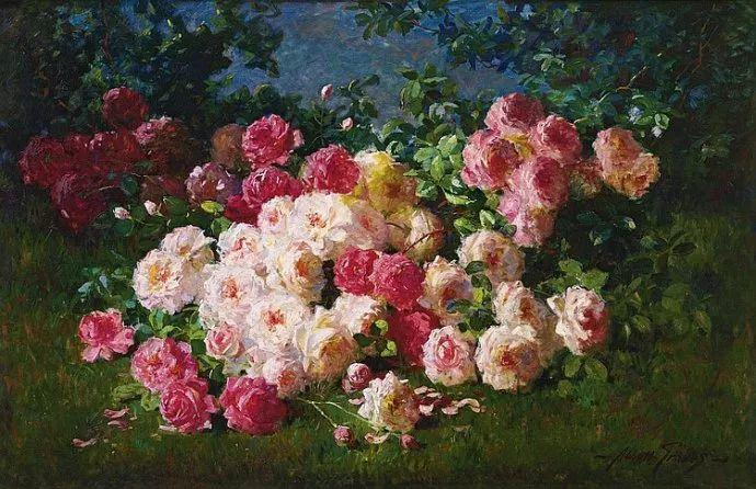 花卉风景 美国Abbott Fuller Graves(1859–1936)插图3