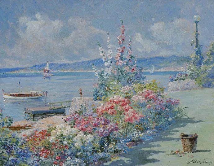 花卉风景 美国Abbott Fuller Graves(1859–1936)插图11