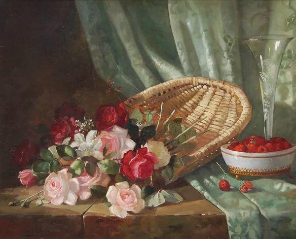 花卉风景 美国Abbott Fuller Graves(1859–1936)插图13