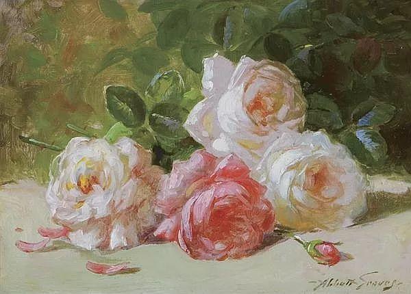 花卉风景 美国Abbott Fuller Graves(1859–1936)插图19