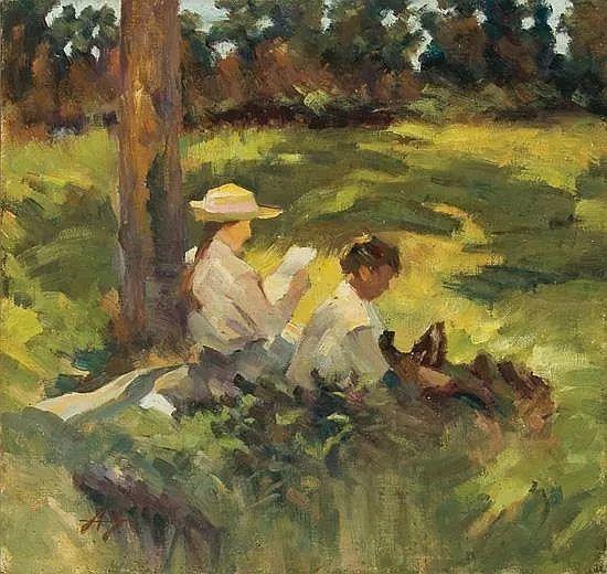 花卉风景 美国Abbott Fuller Graves(1859–1936)插图25