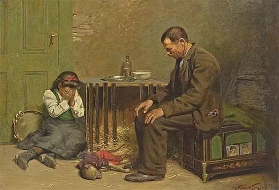 花卉风景 美国Abbott Fuller Graves(1859–1936)插图27