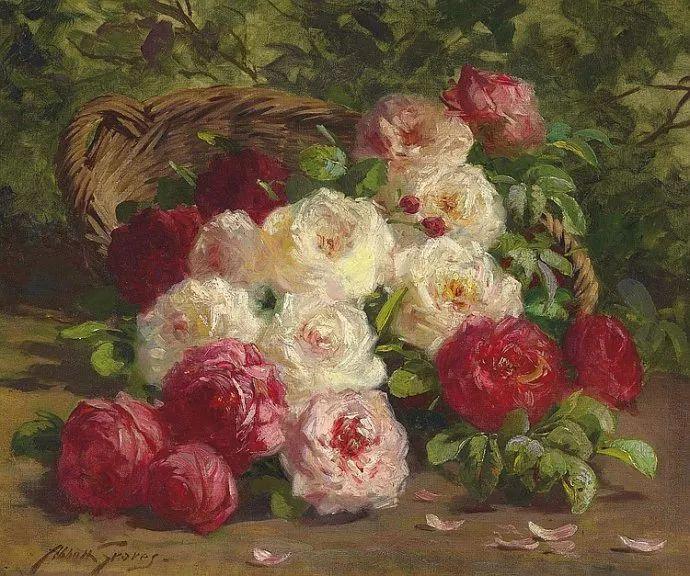花卉风景 美国Abbott Fuller Graves(1859–1936)插图33