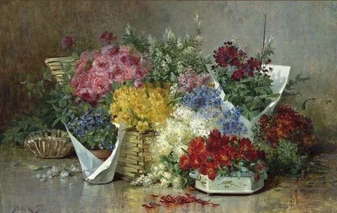 花卉风景 美国Abbott Fuller Graves(1859–1936)插图41