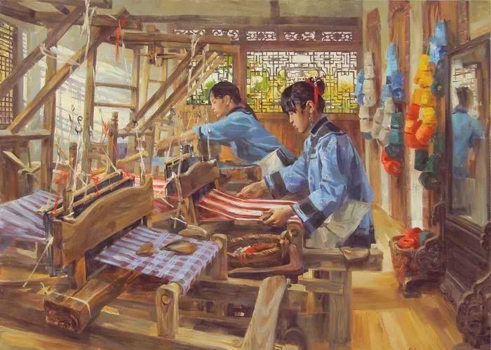 画中国 俄罗斯女画家Victoria Kharchenko作品插图2