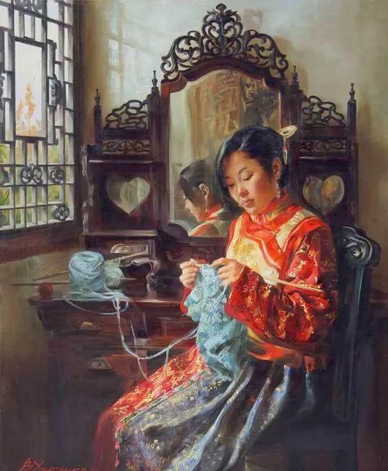 画中国 俄罗斯女画家Victoria Kharchenko作品插图21