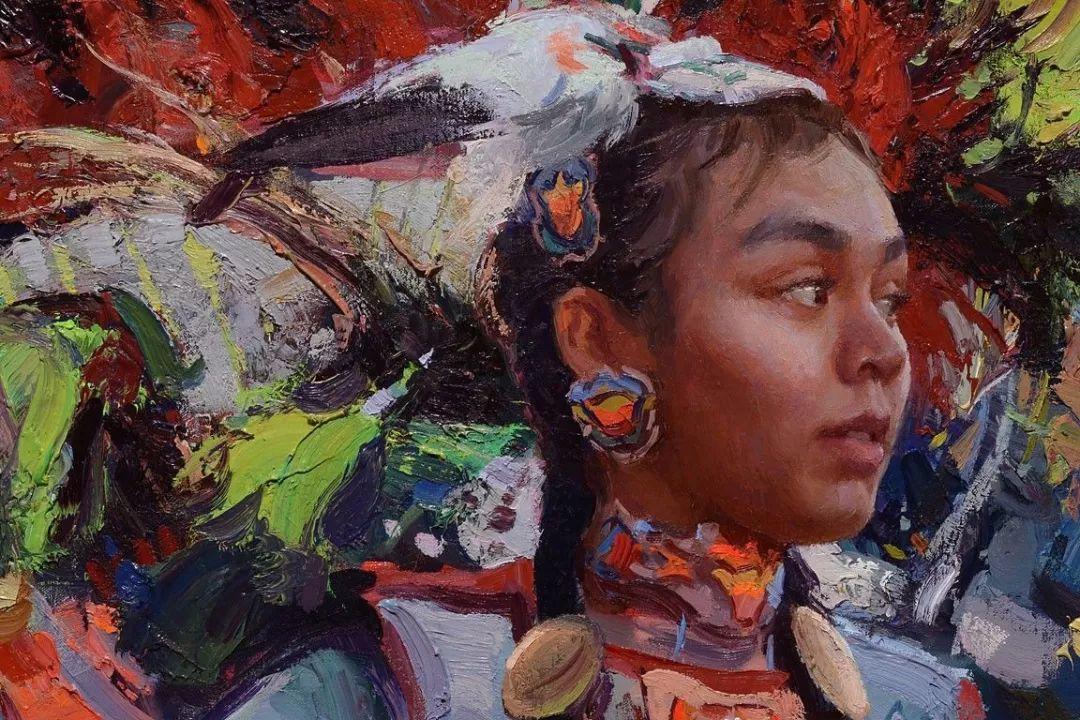 人物油画欣赏 美国画家Scott burdick插图