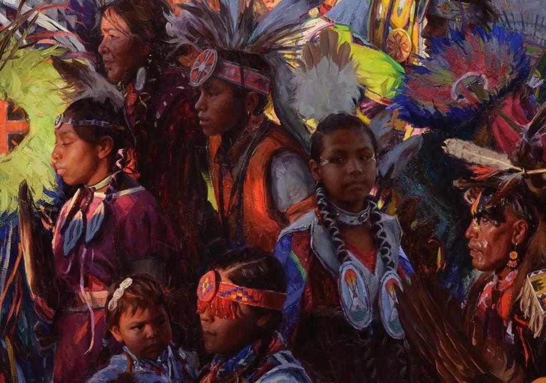 人物油画欣赏 美国画家Scott burdick插图12