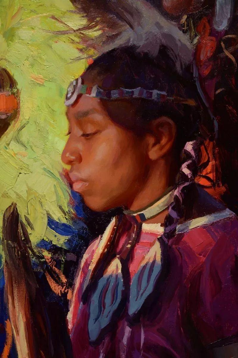 人物油画欣赏 美国画家Scott burdick插图14