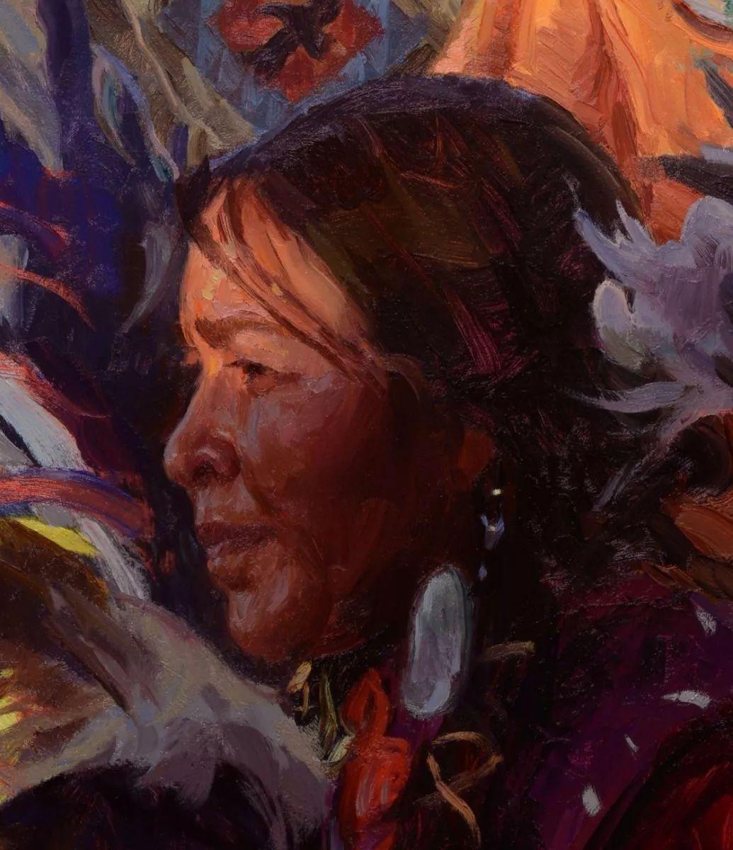 人物油画欣赏 美国画家Scott burdick插图15