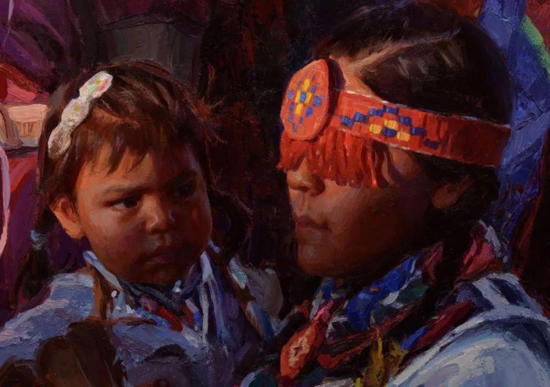 人物油画欣赏 美国画家Scott burdick插图16