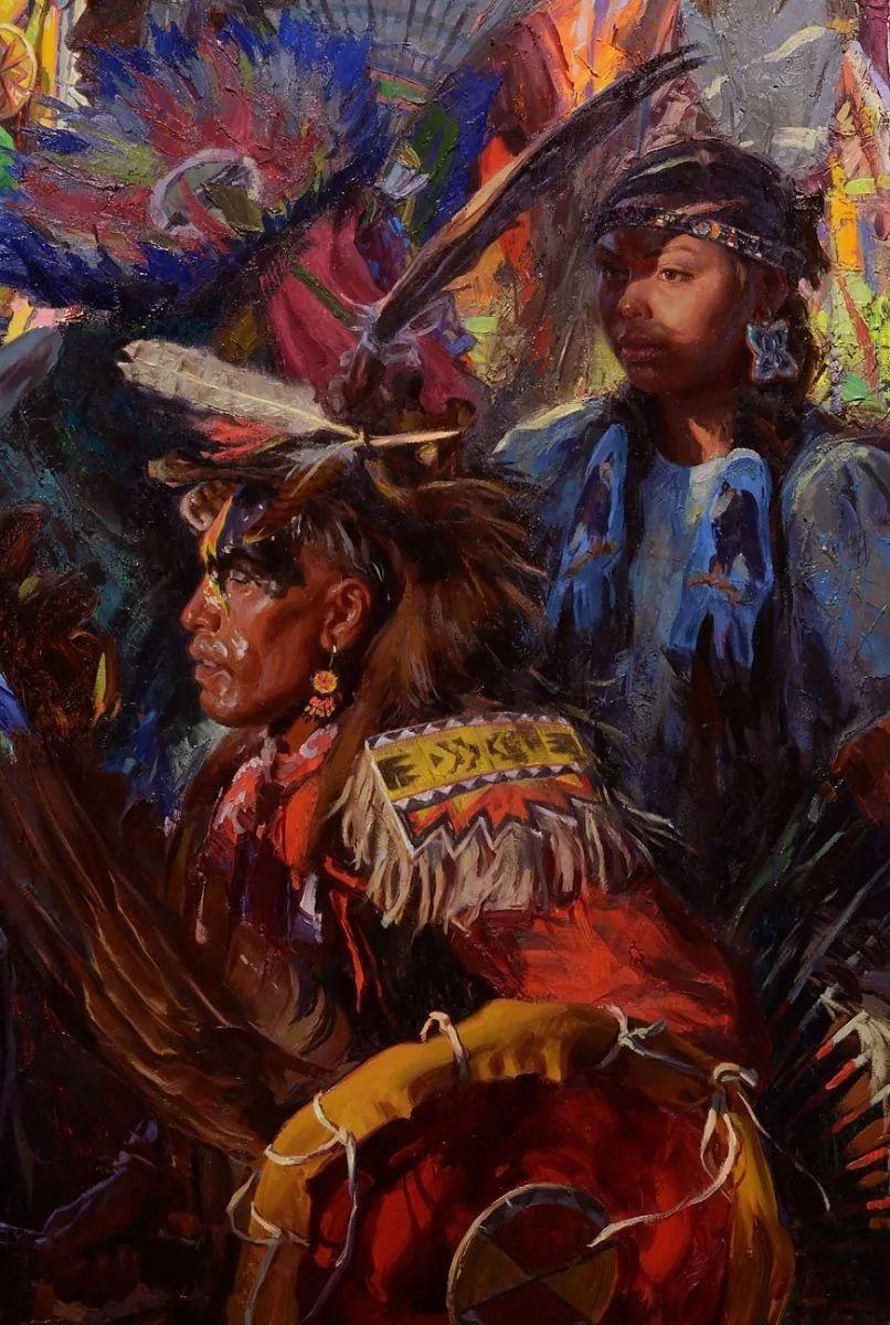 人物油画欣赏 美国画家Scott burdick插图18