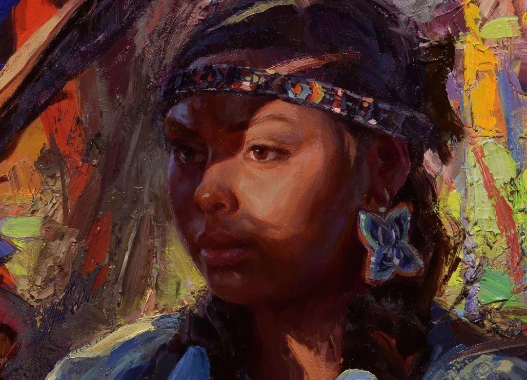 人物油画欣赏 美国画家Scott burdick插图19
