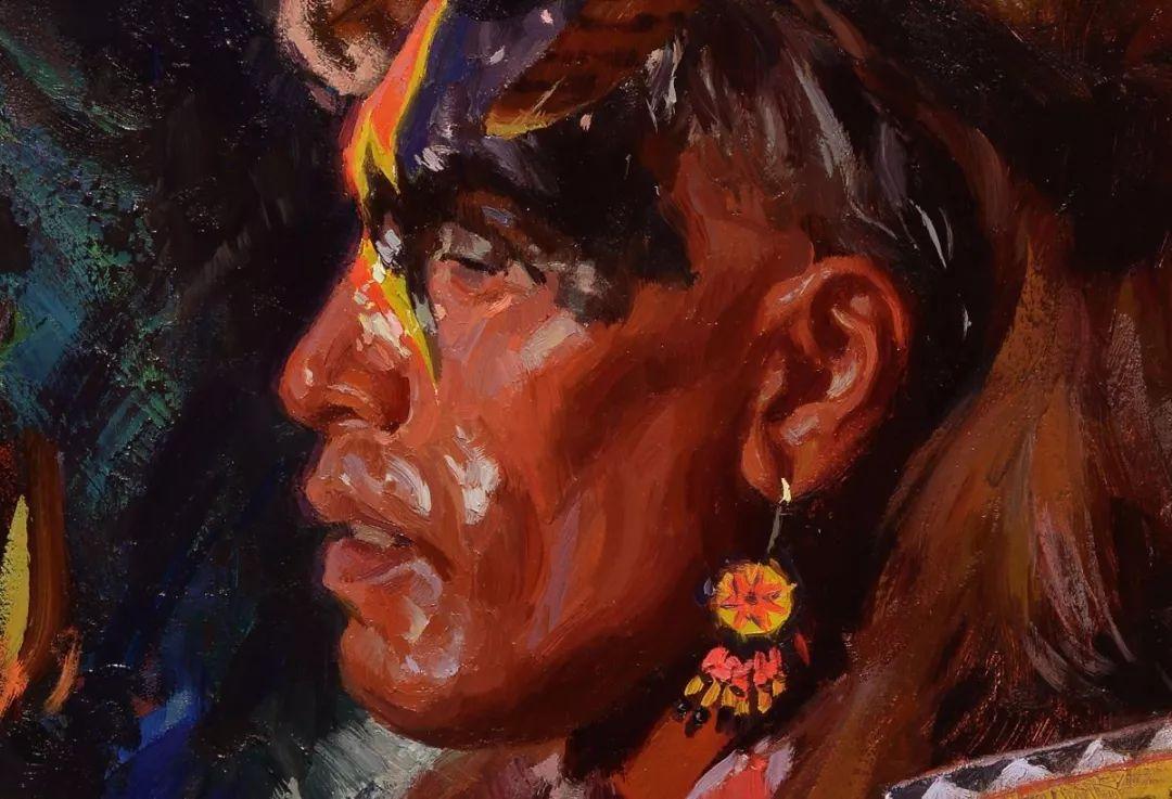 人物油画欣赏 美国画家Scott burdick插图21