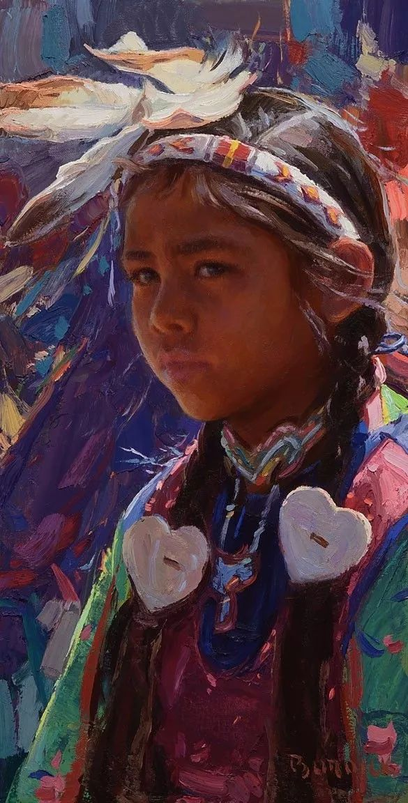 人物油画欣赏 美国画家Scott burdick插图22