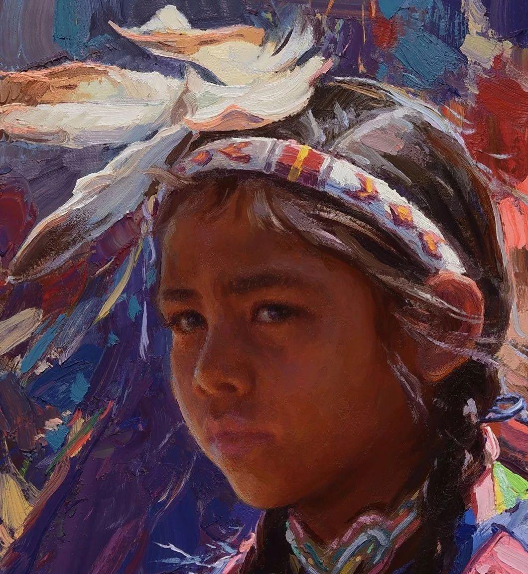 人物油画欣赏 美国画家Scott burdick插图24