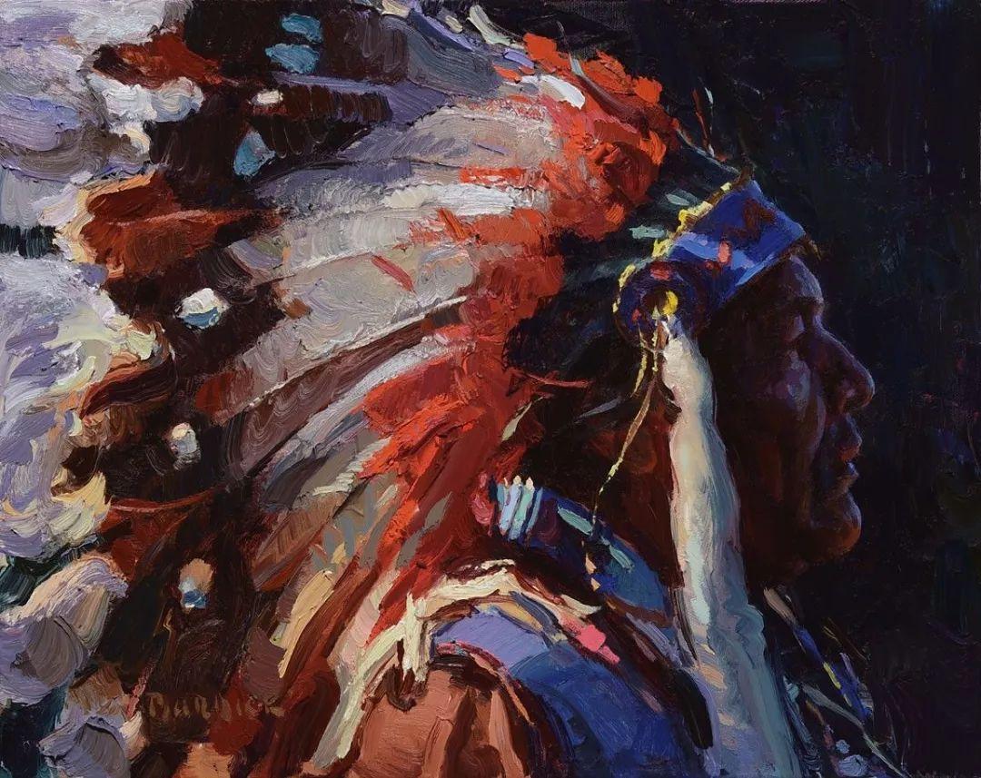 人物油画欣赏 美国画家Scott burdick插图25