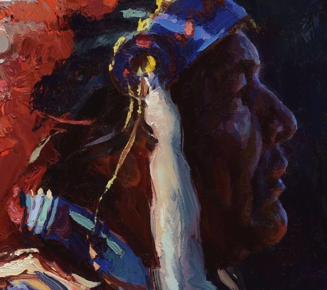 人物油画欣赏 美国画家Scott burdick插图26