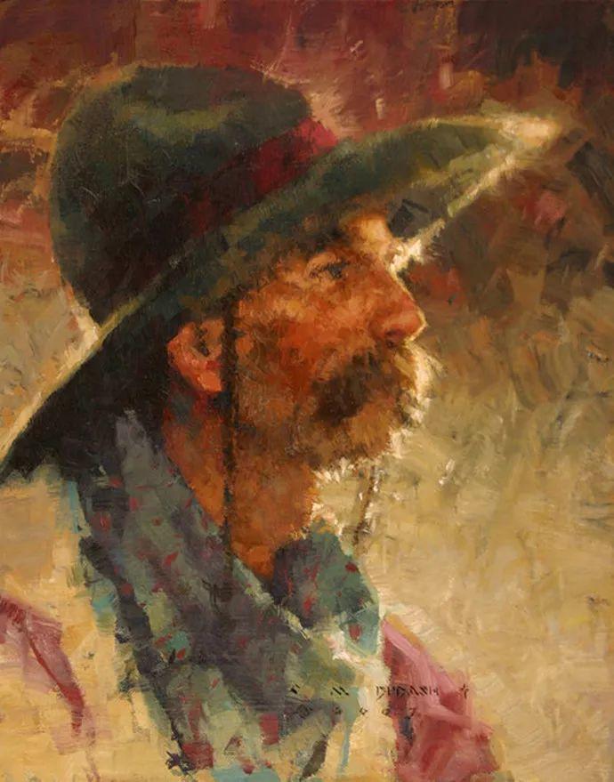 油画人物 美国C.MICHAEL DUDASH作品插图3