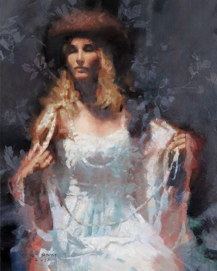 油画人物 美国C.MICHAEL DUDASH作品插图11