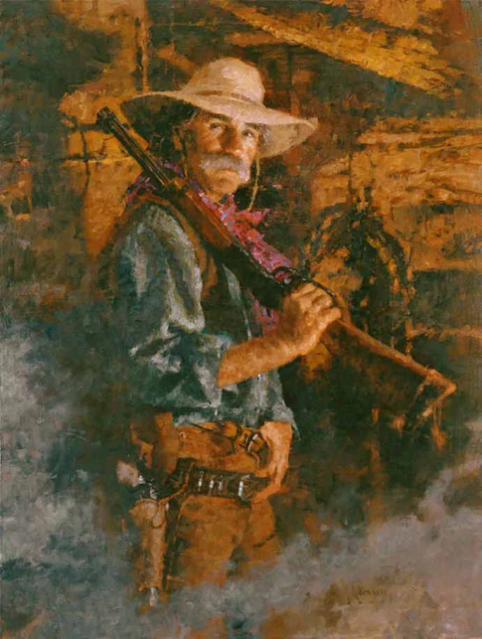 油画人物 美国C.MICHAEL DUDASH作品插图27
