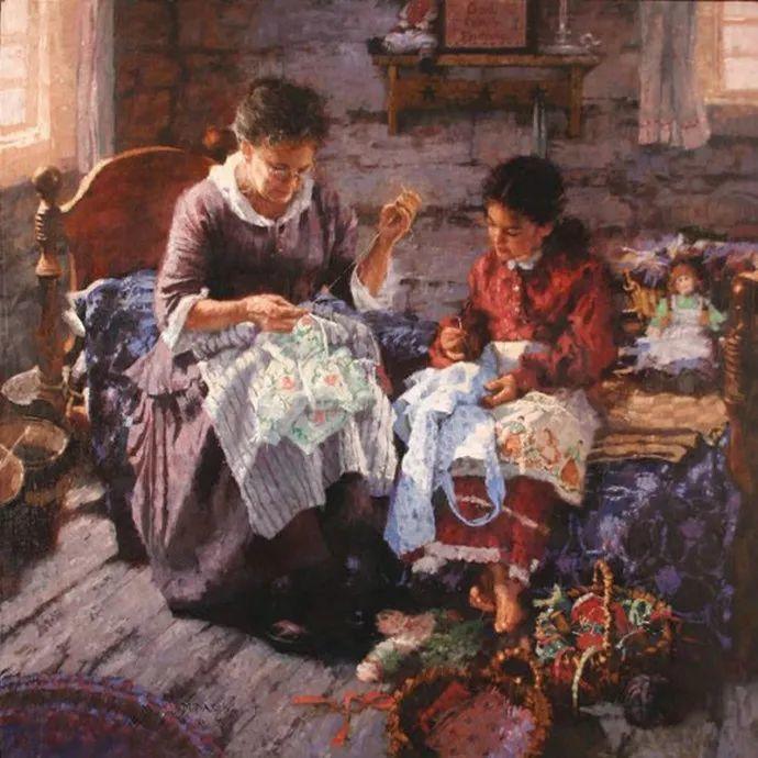 油画人物 美国C.MICHAEL DUDASH作品插图35