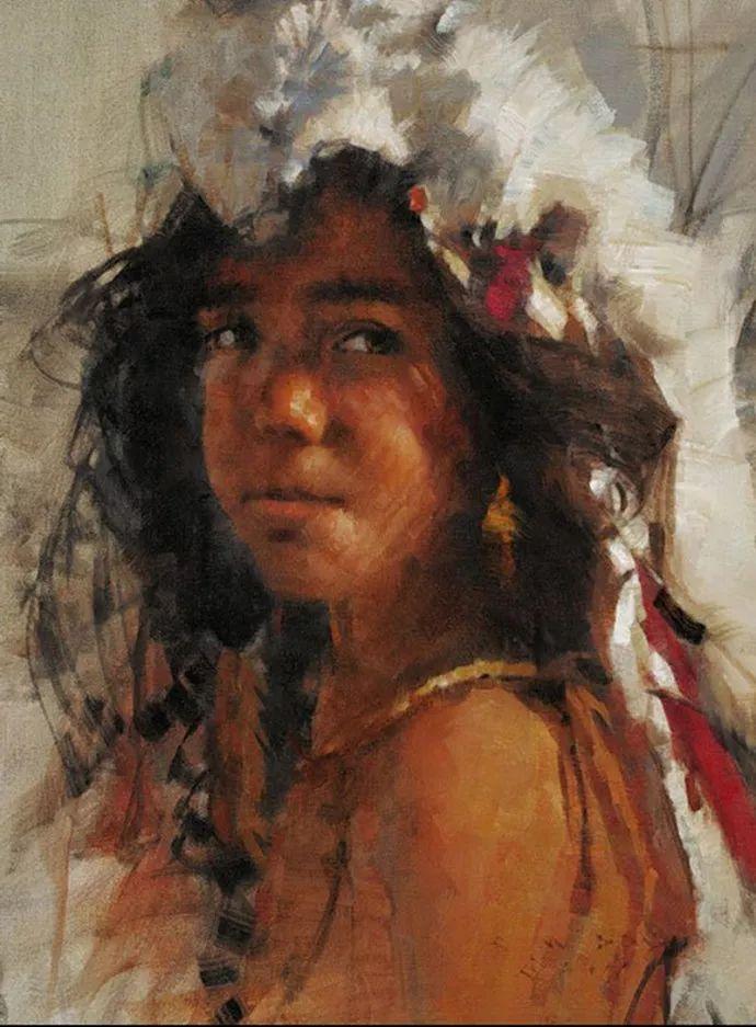油画人物 美国C.MICHAEL DUDASH作品插图39