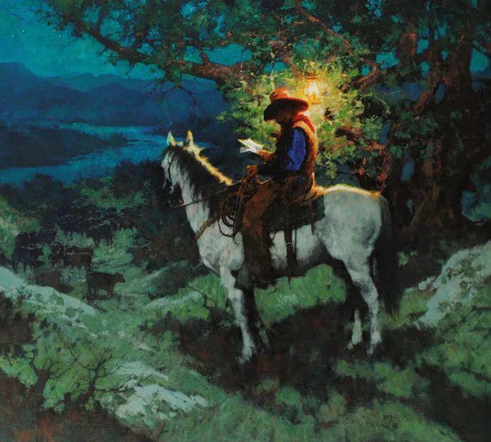 油画人物 美国C.MICHAEL DUDASH作品插图41