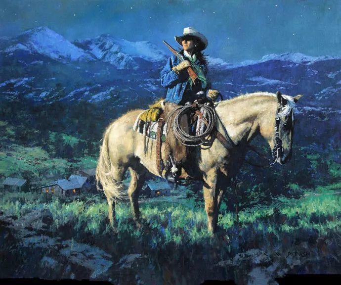 油画人物 美国C.MICHAEL DUDASH作品插图43