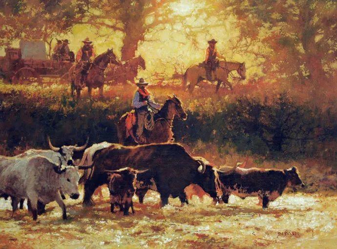 油画人物 美国C.MICHAEL DUDASH作品插图45