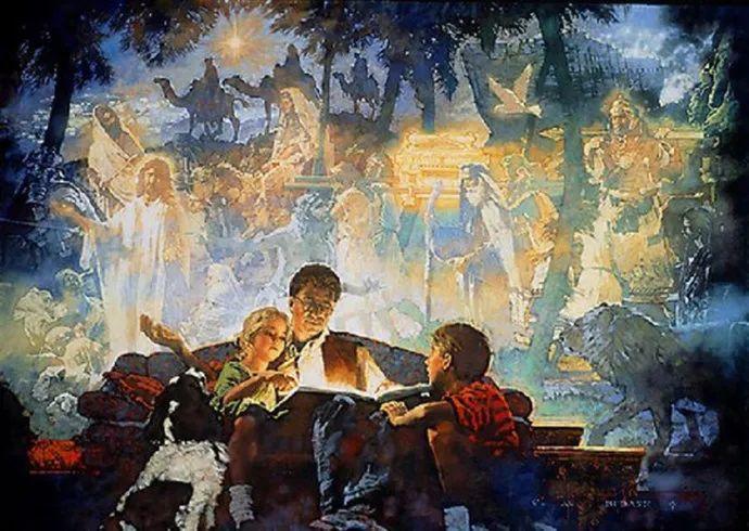 油画人物 美国C.MICHAEL DUDASH作品插图65