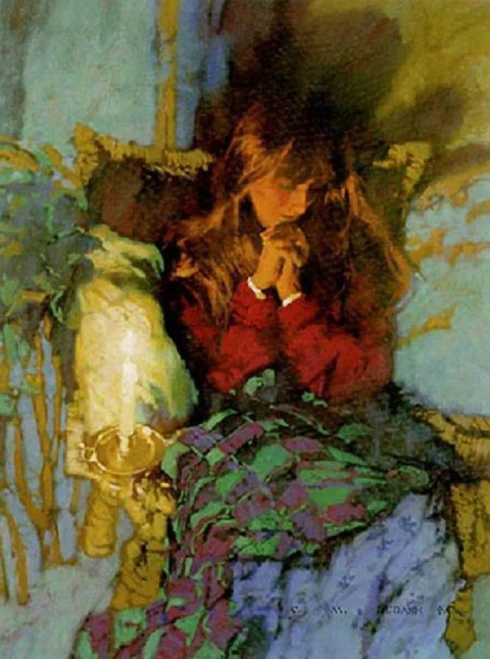 油画人物 美国C.MICHAEL DUDASH作品插图81