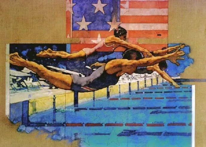 油画人物 美国C.MICHAEL DUDASH作品插图85