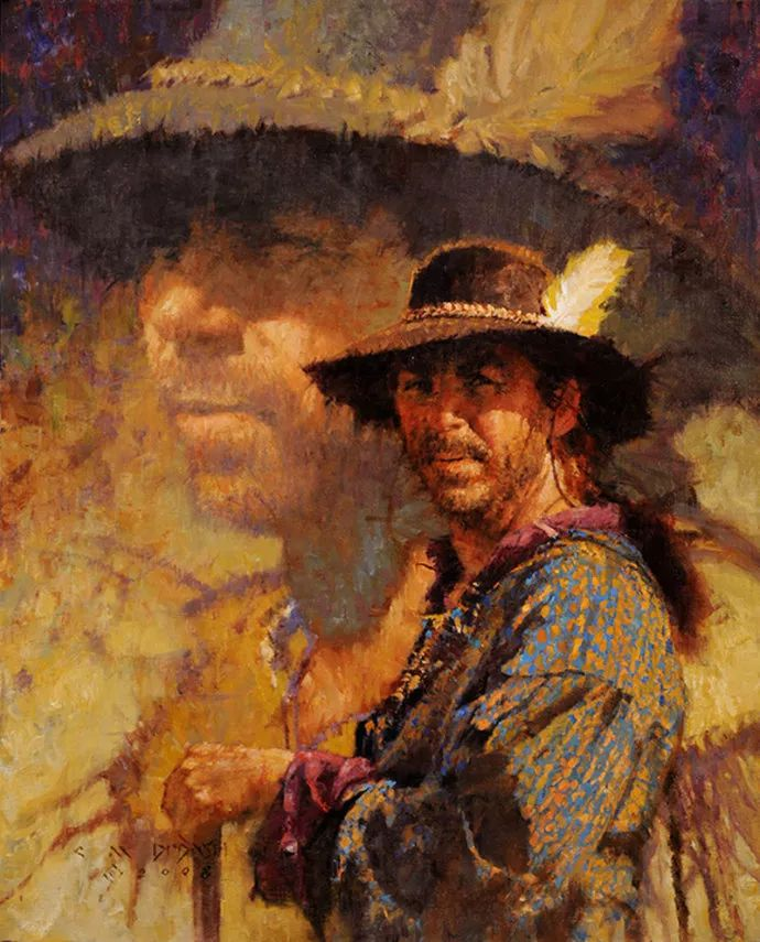 油画人物 美国C.MICHAEL DUDASH作品插图101