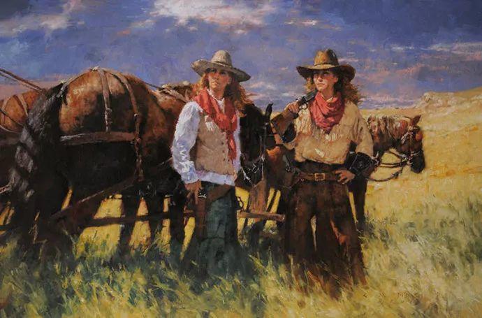 油画人物 美国C.MICHAEL DUDASH作品插图103