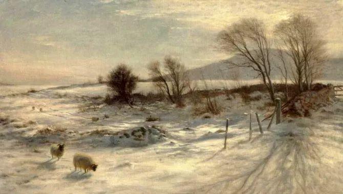 牧羊系列油画 苏格兰Joseph Farquharson作品插图7