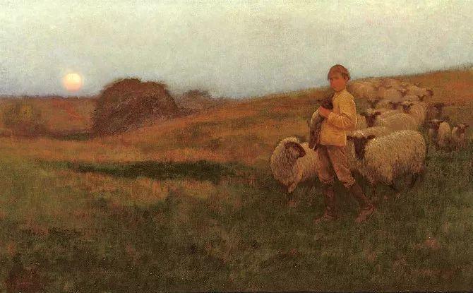 牧羊系列油画 苏格兰Joseph Farquharson作品插图9