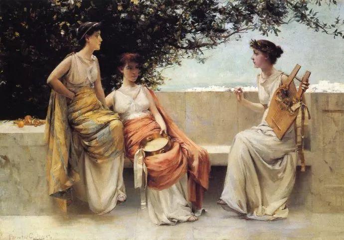 风景人物 美国画家Francis Coates Jones(1857-1932)插图11