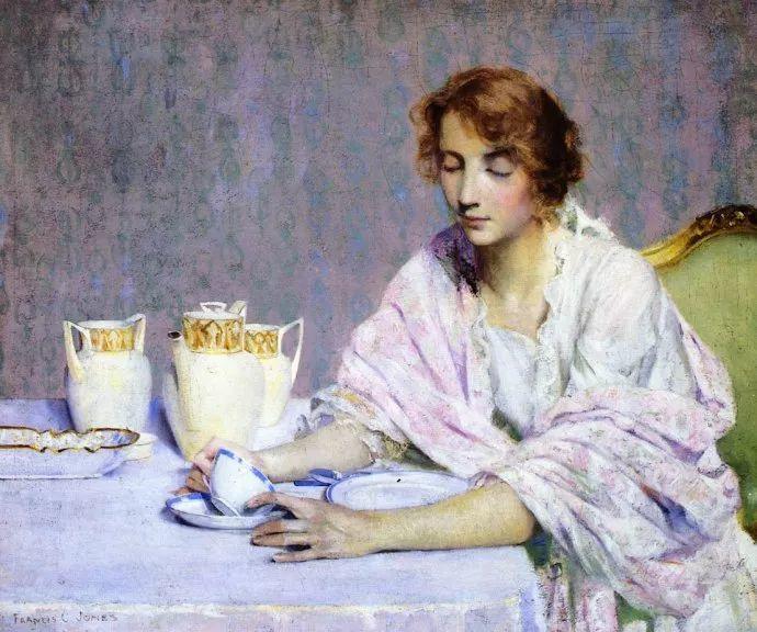 风景人物 美国画家Francis Coates Jones(1857-1932)插图13