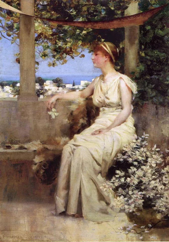 风景人物 美国画家Francis Coates Jones(1857-1932)插图15