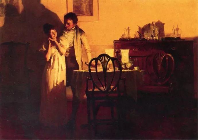 风景人物 美国画家Francis Coates Jones(1857-1932)插图17