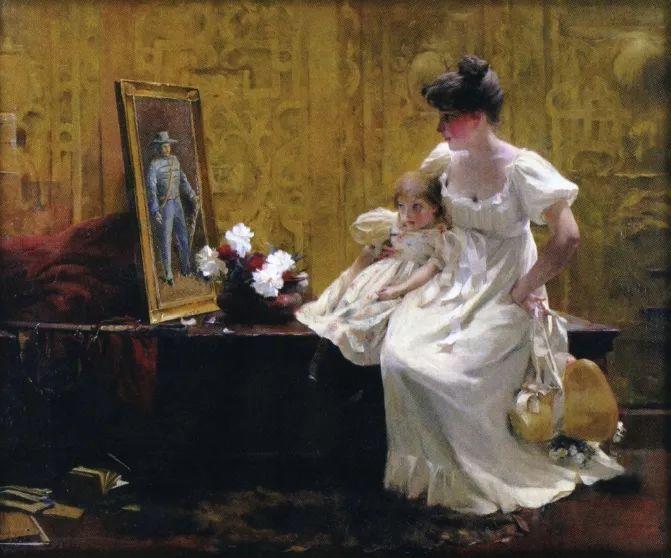 风景人物 美国画家Francis Coates Jones(1857-1932)插图23